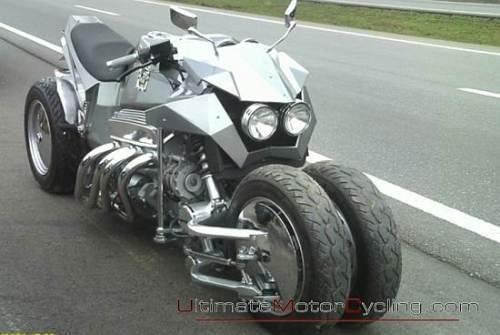 Четырехколесный мотоцикл своими руками